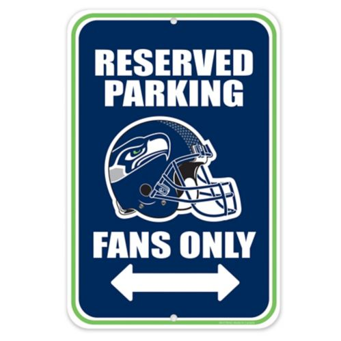 Seattle Seahawks Parking Sign, 8 x 12-in Product image