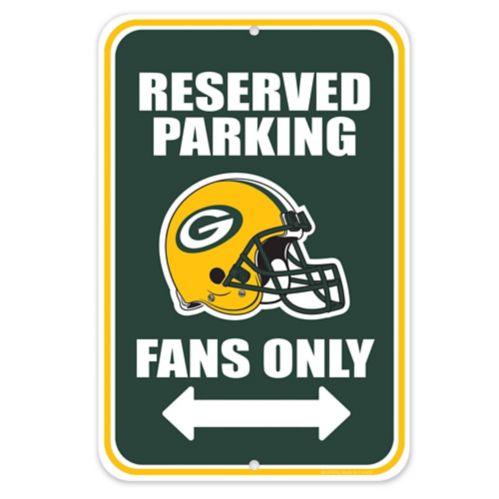 Green Bay Packers Parking Sign, 8 x 12-in Product image