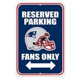 New England PatriotsParking Sign | NFLnull