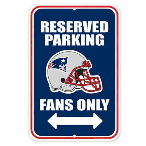New England PatriotsParking Sign Product image