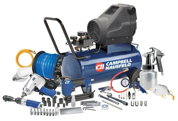 Campbell Hausfeld 8 Gallon Air Compressor Starter Kit Product image