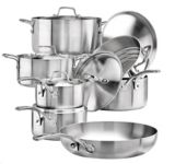 Lagostina Commercial Clad Cookware Set with Utensils, 13-pc | Lagostinanull