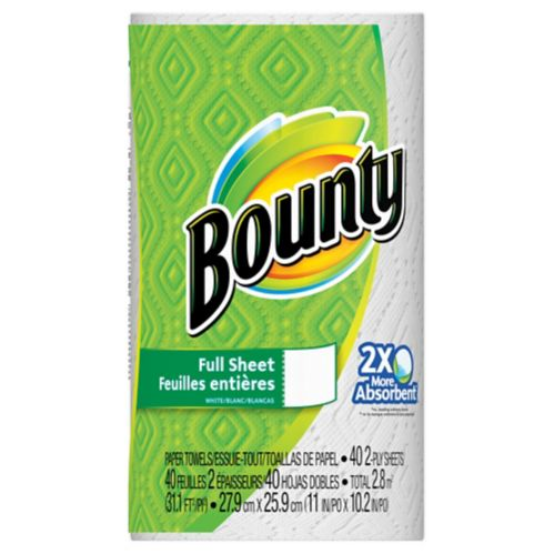 Bounty Single Roll Paper Towel Product image