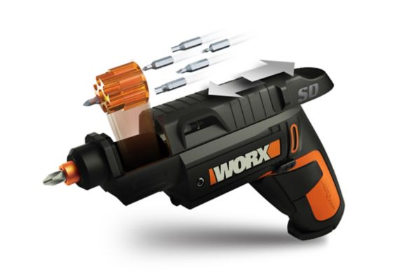 Tournevis semi-automatique sans fil WORX SD au li-ion, 4 V
