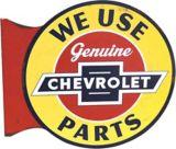 Plaque Chevrolet 3D de style pub