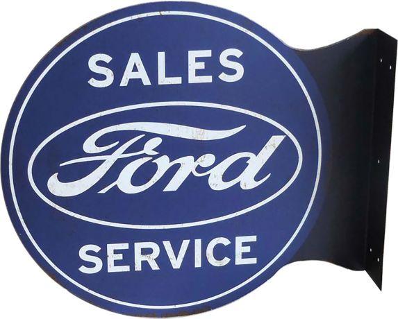Plaque murale Ford 3D de style pub Image de l'article