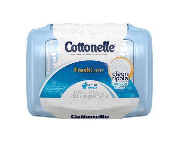 Contenant de lingettes de nettoyage Cottonelle, paq. 42 Image de l'article