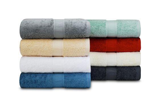 Serviettes de bain en coton Image de l'article