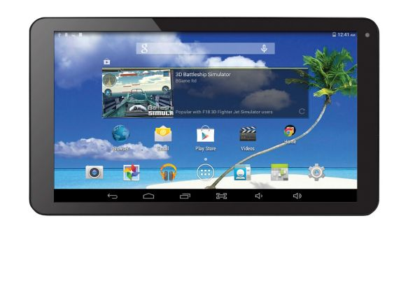 Proscan Quad Core Tablet, Black, 10.1-in Product image