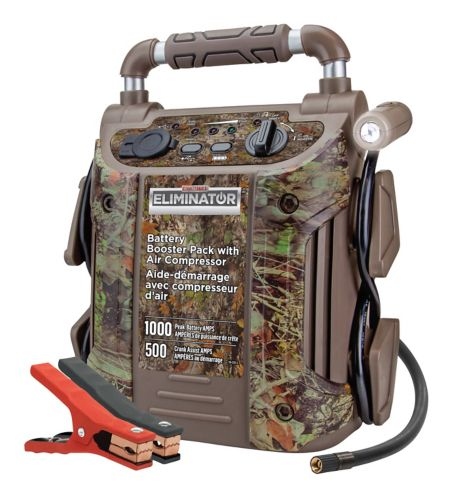 MotoMaster Eliminator 1000A Camo Booster Pack Product image