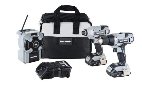 Ensemble 3 outils sans fil au li-ion MAXIMUM, 20 V Max Image de l'article
