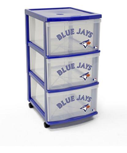 Tour de rangement Gracious Living à 3 tiroirs, Blue Jays Image de l'article