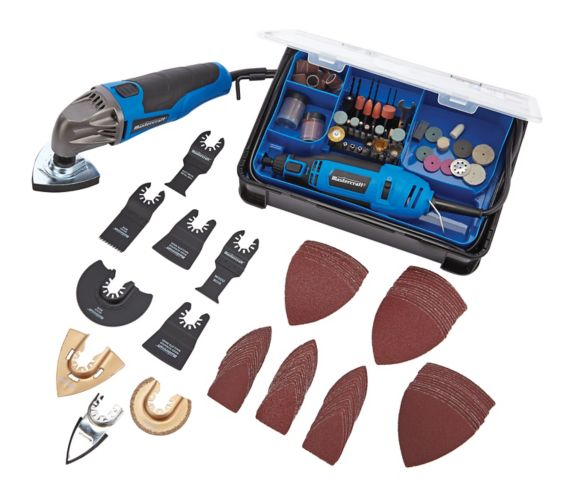 Mastercraft Rotary Tool Kit and 2A Multi-Tool Product image