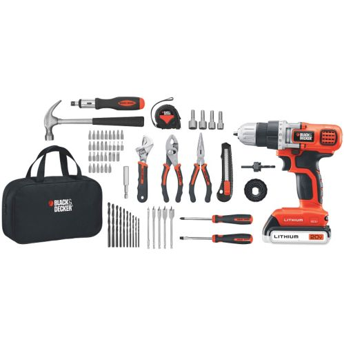 Black & Decker 20V MAX Lithium Drill and Project Kit Product image