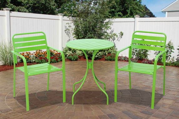 Colourful Bistro Set, Green Product image