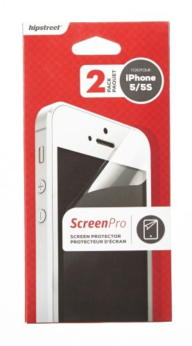 Hipstreet iPhone 5 Screen Protector, Clear, 2-pk Product image