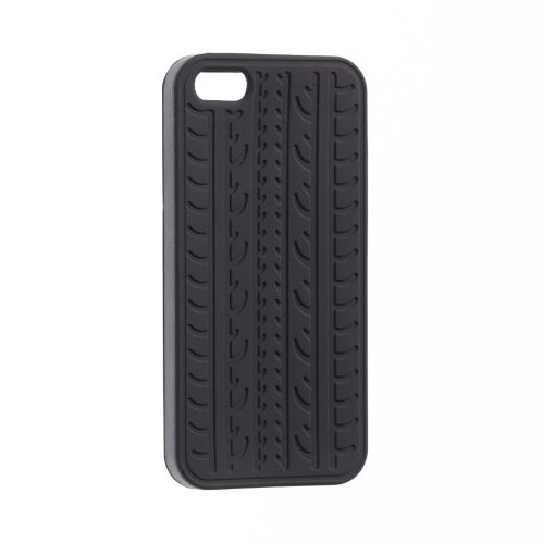 Étui Hipstreet pneu pour iPhone 5/5S, noir