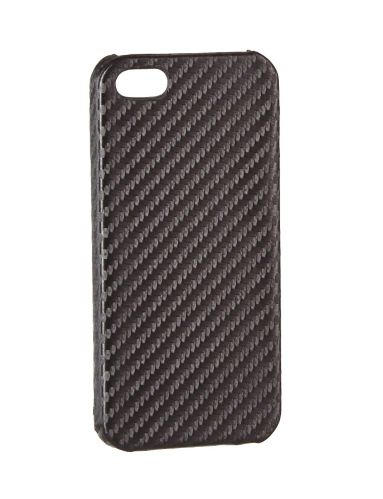Étui Hipstreet fibre carbone pour iPhone 5/5S, charbon/noir Image de l'article