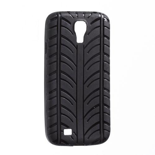 Étui Hipstreet pneu pour Samsung Galaxy S4, noir Image de l'article