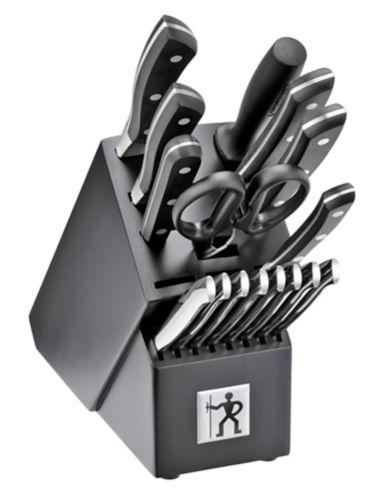 Henckels Forged Aviara Knife Set with Bonus Cutting board & Sharpener, 19-pcs Product image