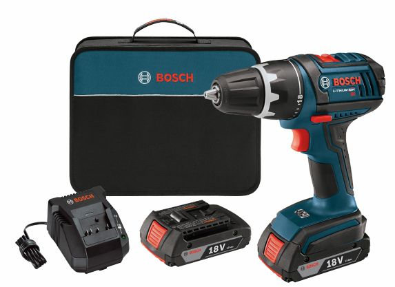Perceuse-tournevis sans fil au lithium-ion Bosch Compact Tough, 18 V, 1/2 po Image de l'article
