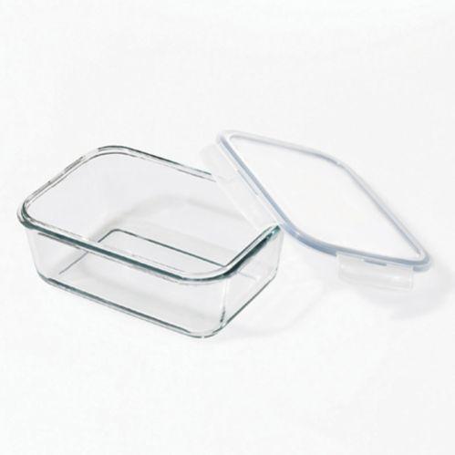 Starfrit Lock & LockRectangular Glass Container, 2-L Product image