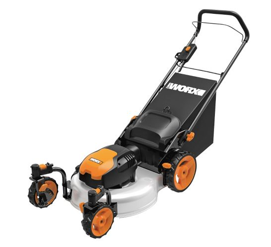 Worx 13A 3-in-1 Electric Lawn Mower, 19-in Product image