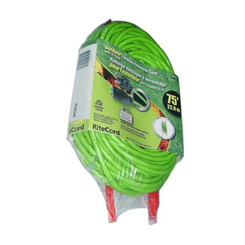 Outdoor Extension Cord with Storage Rack, 75-ft Product image