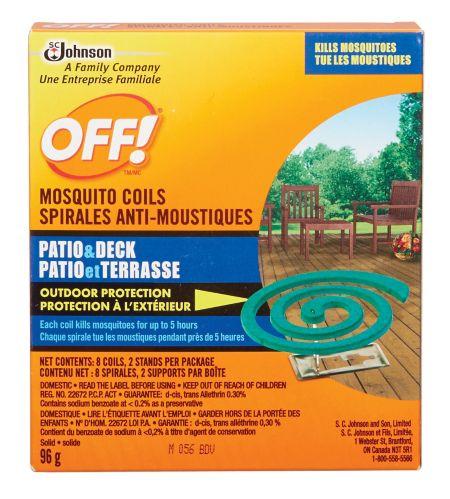 OFF! Trousse de spirales anti-moustiques, 5 heures Image de l'article