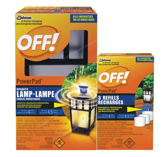 OFF! Powerpad Mosquito Repellent Lamp Value Pack