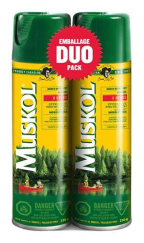 Muskol Mosquito Repellent Aerosol Duo Pack, 230-g