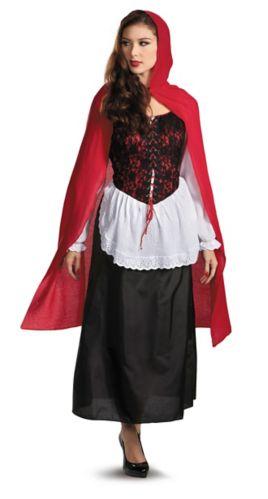 Costumes d'Halloween du Petit Chaperon rouge, adultes Image de l'article