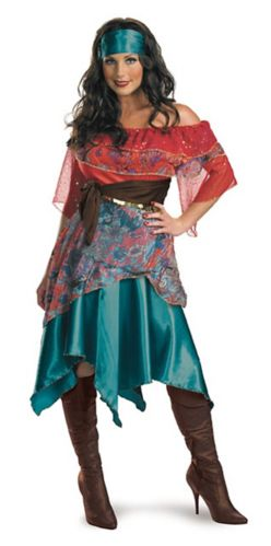Bohemian Outfit Halloween Costume, Adult Product image