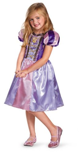 Rapunzel Sparkle Classic Kids' Halloween Costume Product image