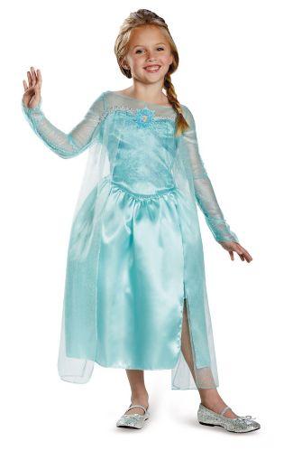 Elsa Snow Queen Gown Kids' Halloween Costume