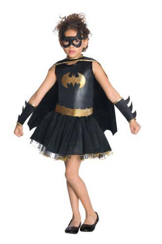 Costume d'Halloween Batgirl pour enfants Image de l'article