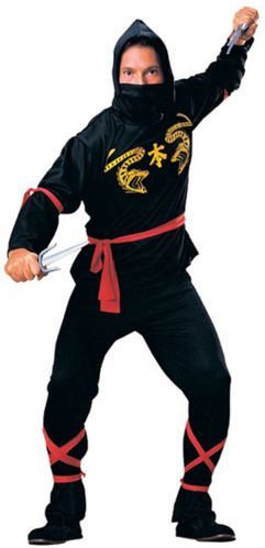 Ninja Halloween Costume, Adult