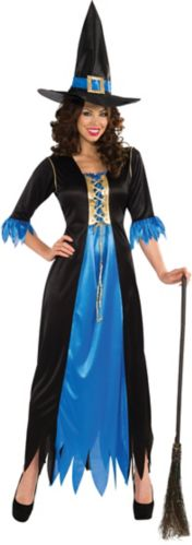 Blue Witch Halloween Costume, Adult Product image