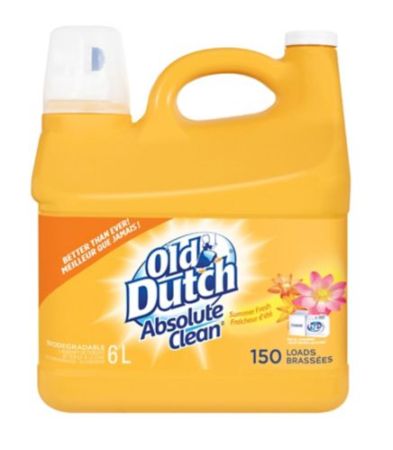 Old Dutch Absolute Clean Laundry Detergent, 6-L Product image