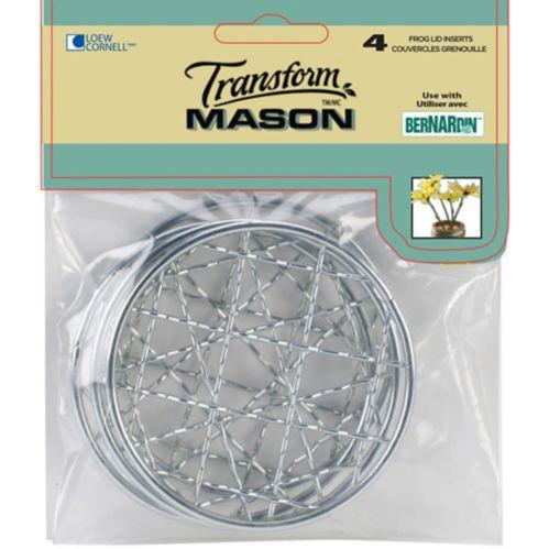Grillages pour pot Mason Transform, paq. 4