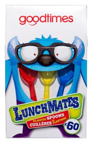 Goodtimes Lunchmates Plastic Spoons, 60-pk