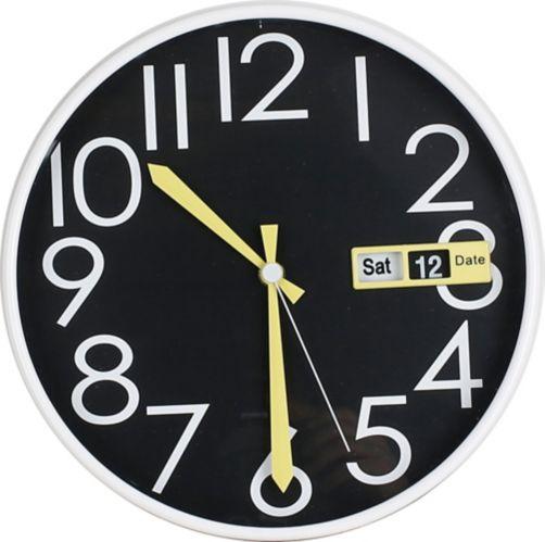Horloge murale, variés, 12 po Image de l'article