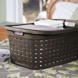 Sterilite Weave Laundry Basket, Espresso | Sterilitenull