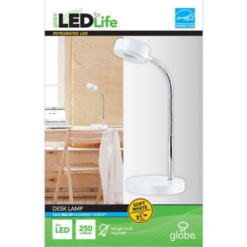 Globe LED Desk Lamp, Assorted Product image