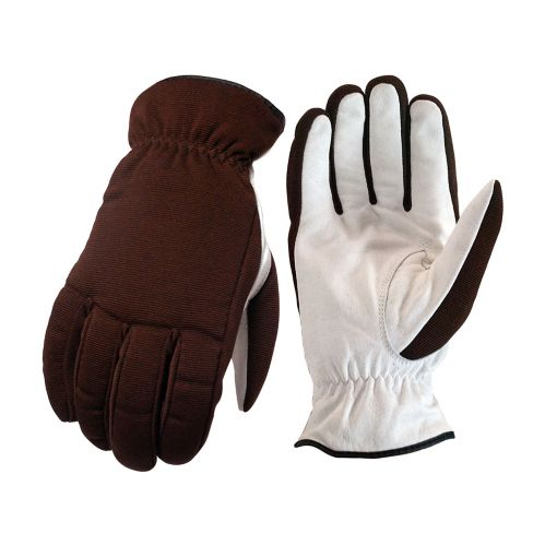 Leather Palm Lined Winter Work Gloves, Large Product image
