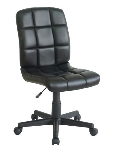 For Living Tufted Desk Chair, Black Product image