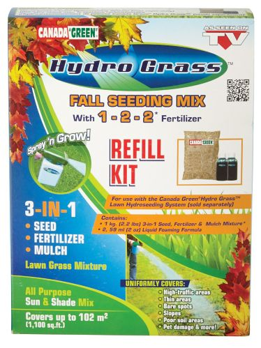 Semence pour hydro-ensemencement de pelouse Canada Green Image de l'article