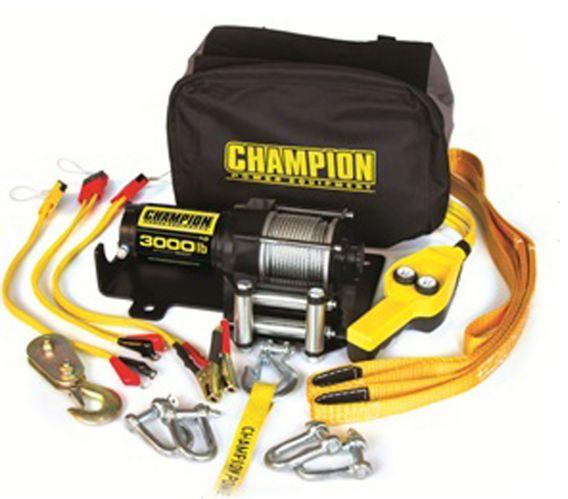 Champion Mobile Winch, 3,000-lb