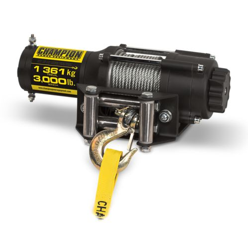 Champion Winch with Snatch Block & Tree Saver, 3,000-lb Product image