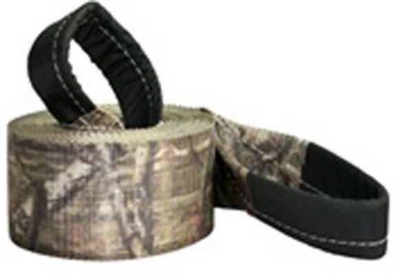 Python Mossy Oak Camo Tow & Recovery Strap, 4-in x 30-ft